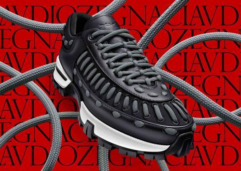إرمينيغيلدو زينيا تطرح حذاء ماي كلاوديو الرياضي بتصميم مميز
