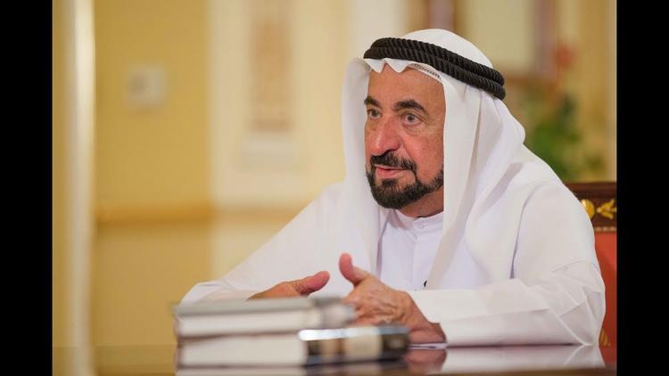 صورة حاكم الشارقة