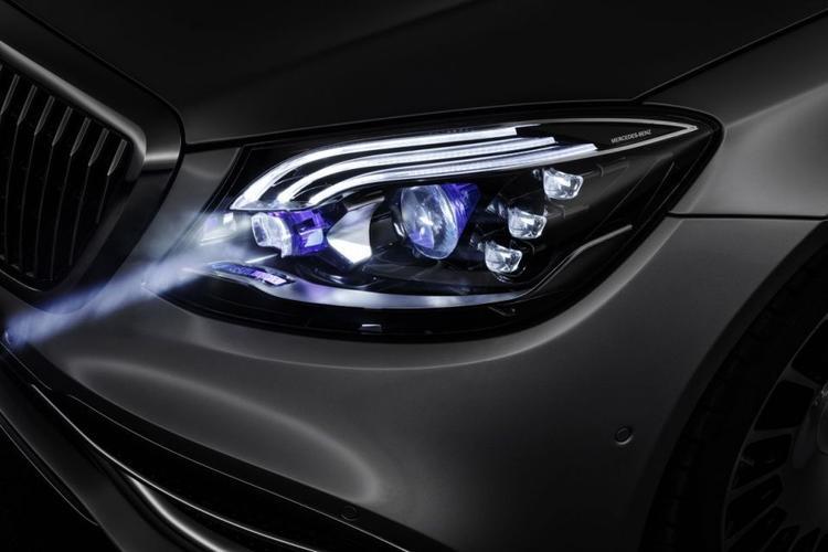 سيارات, مرسيدس, مصابيح ذكية