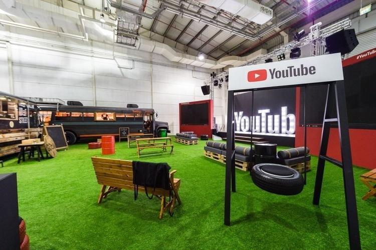 استوديو, يوتيوب, دبي, الشرق الأوسط