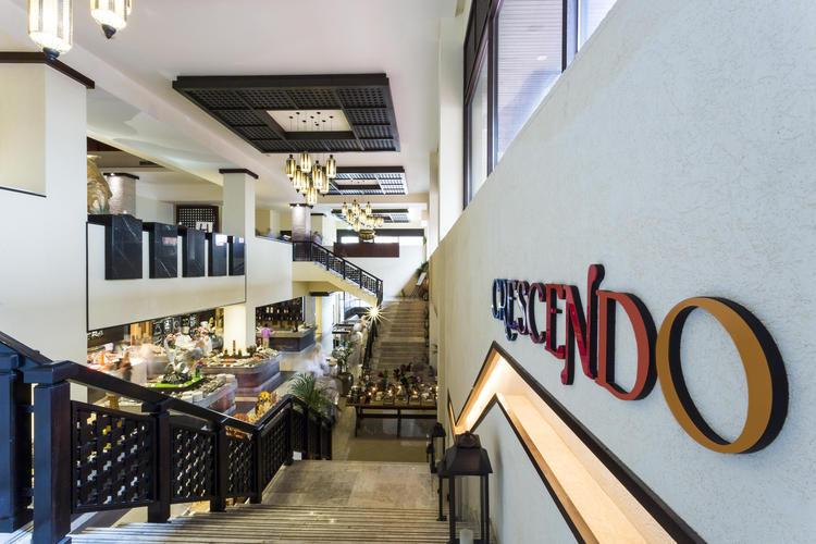 مطعم كريسيندو - دبي أنانتارا النخلة