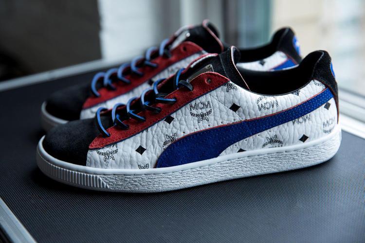 حذاء Suede الرياضي الشهير.