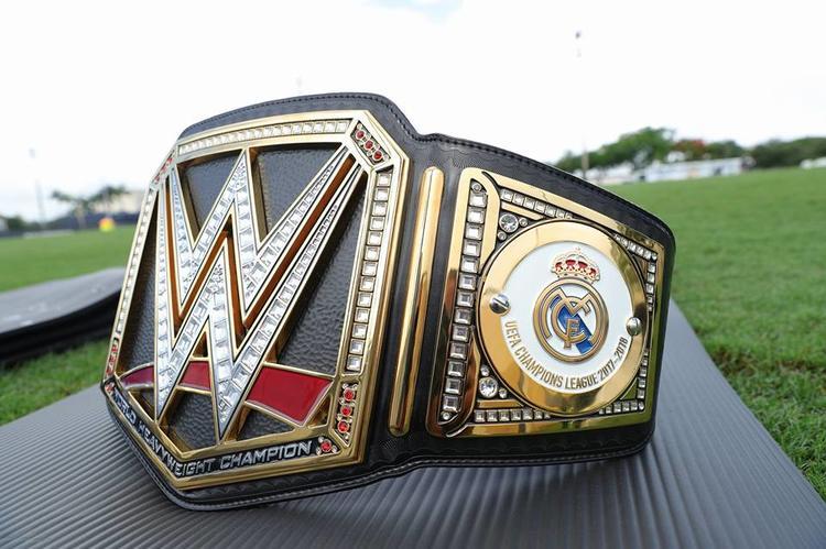 حزام WWE الخاص بنادي ريال مدريد