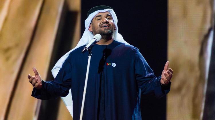 المطرب الإماراتي حسين الجسمي