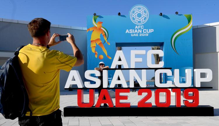 كأس آسيا 2019, الإمارات العربية المتحدة, أبوظبي, دبي, كرة القدم