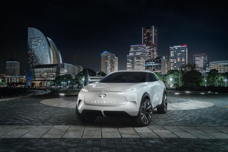 سيارة إنفينيتي QX Inspiration الكهربائية