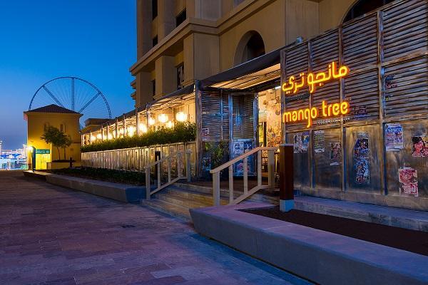 مطعم, دبي, فنادق, منتجعات, عطلات, بانكوك, طعام, مانجو تري, هيلتون
