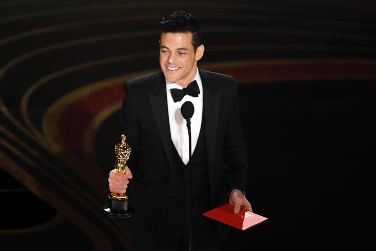 الممثل الأمريكي المصري رامي مالك