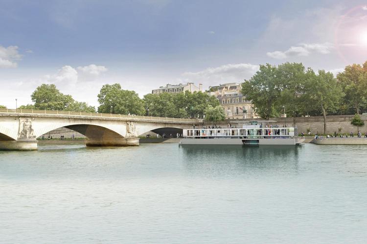 متحف «فلكتوارت» العائم في باريس