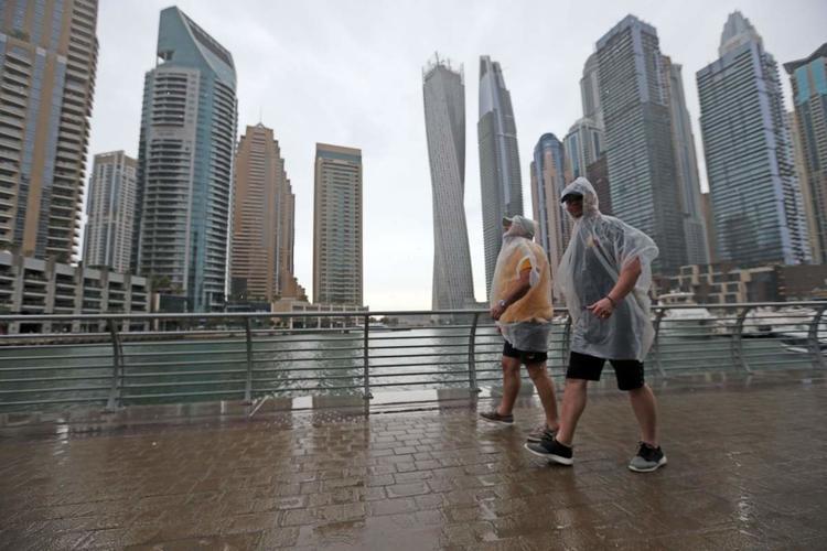 أمطار, دبي, غزارة, الإمارات العربية المتحدة, سياحة, سفر, الجو
