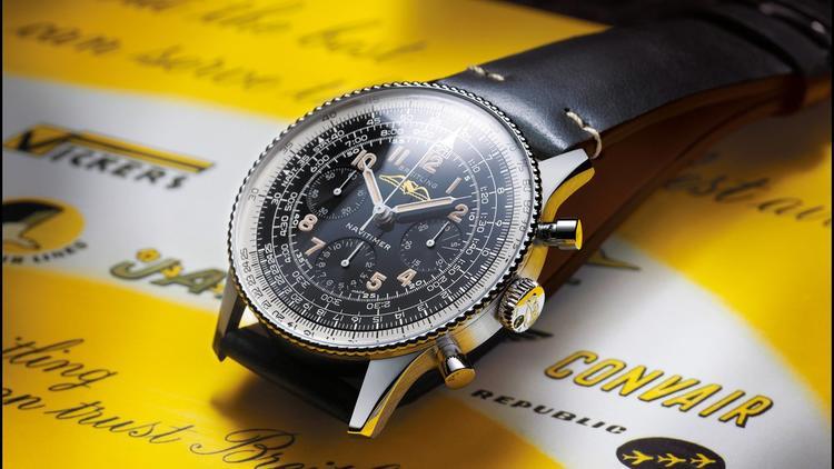 ساعة بريتلينغ نافيتايمر ذات الرقم المرجعي 1959 806 ري إديشن