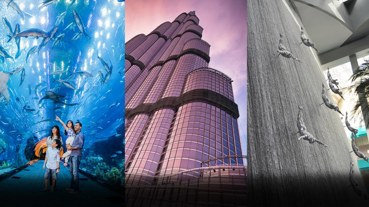 عروض, خصومات, مترو دبي, برج خليفة, دبي مول, دبي أوبرا