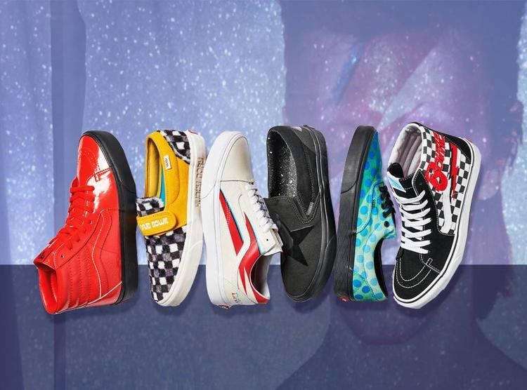 أحذية رجالية, أحذية كاجوال, فانس, ديفيد بوي, الإمارات العربية المتحدة, موسيقى الروك, تشكيلة