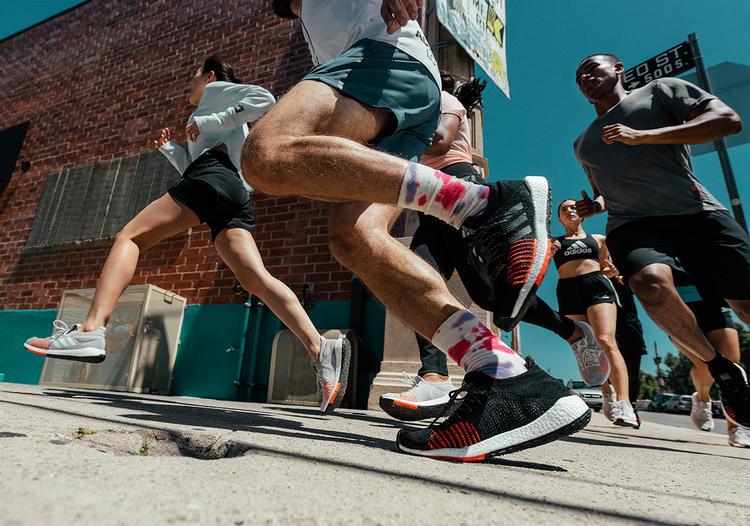 أحذية رياضية, أديداس, الجري, رياضة, راحة, سرعة, العدائين