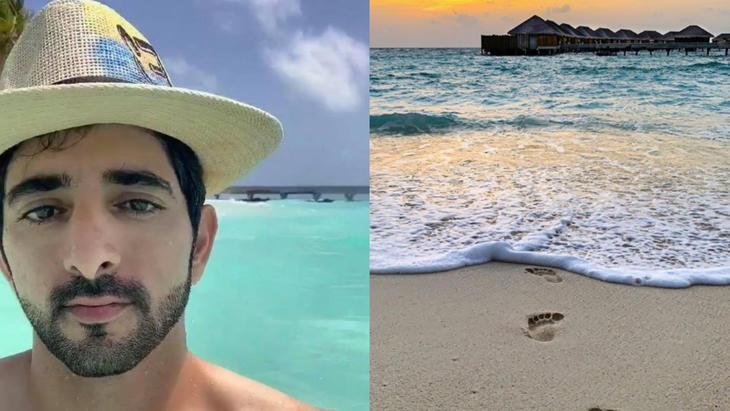الشيخ حمدان, ولي عهد دبي, سياحة, سفر, ترفيه, جزر المالديف, شهر العسل